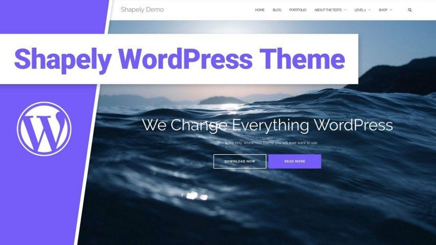 Template WordPress Gratis Keren